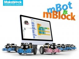 創客教室專區-機器人方案-mBot 超萌自走機器人