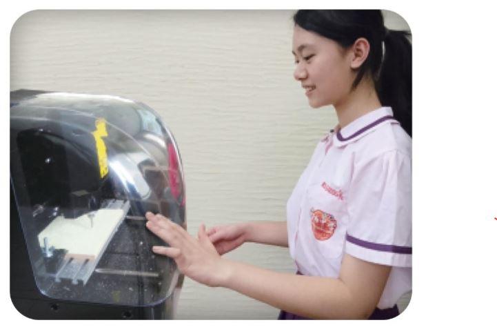 創客教室專區-桌上型 CNC 切雕雷射機-CNC 生活科技 作品範例